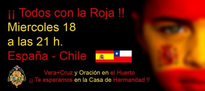 Este Miércoles España – Chile