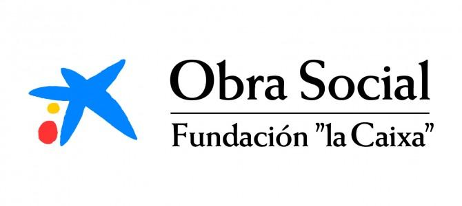 """La Obra Social """"la Caixa"""" entrega 300 kg de alimentos a la Archicofradía."""