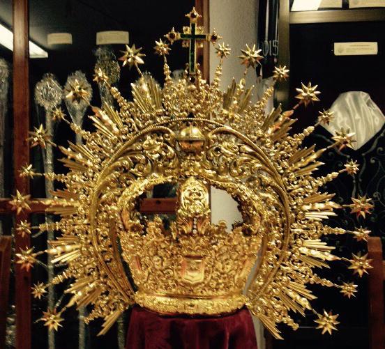 Corona Jesus Dominguez Restaurada
