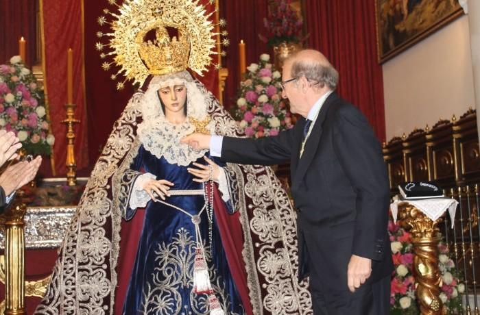 Ntra Madre y Sra. de los Dolores ya luce la Medalla de la Ciudad