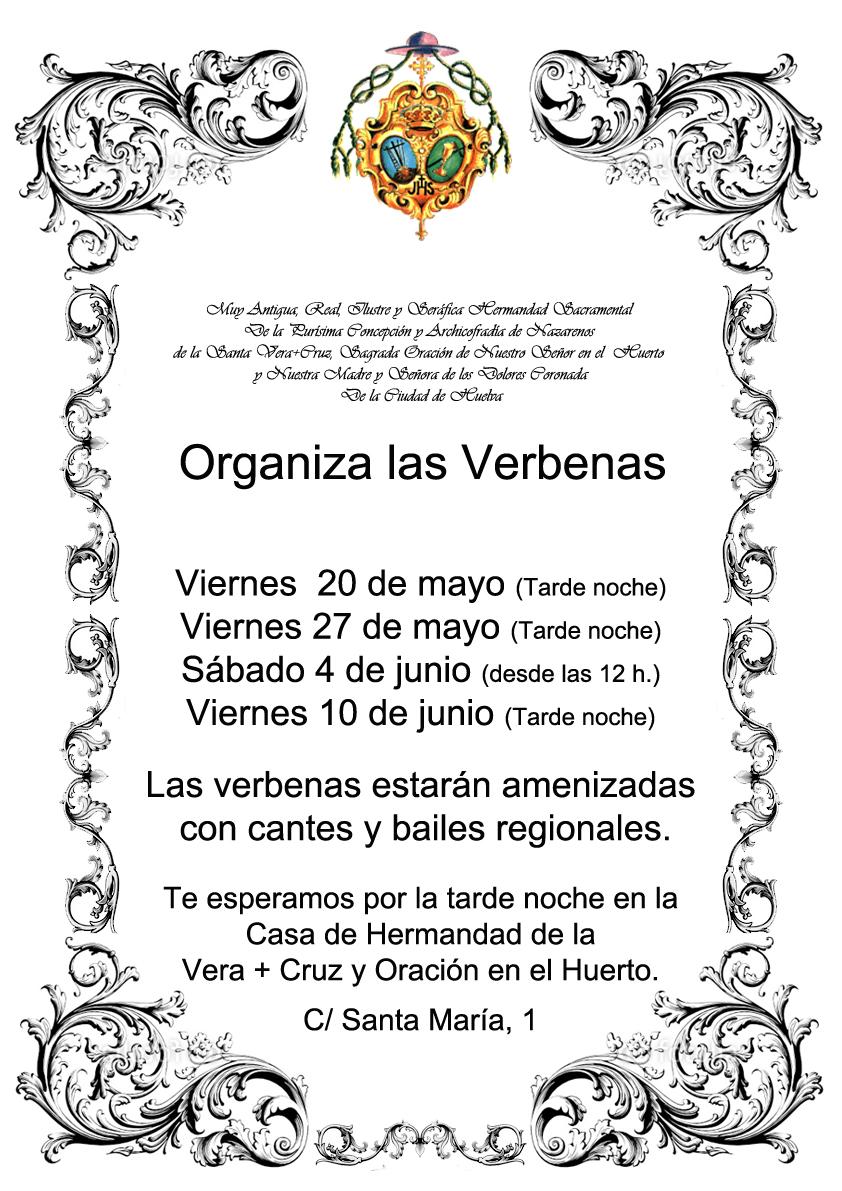 Cartel Verbenas