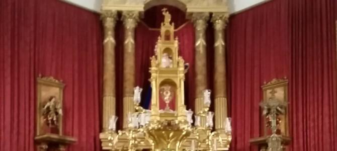 Solemne Triduo al Santísimo y Festividad de Cristo Rey.