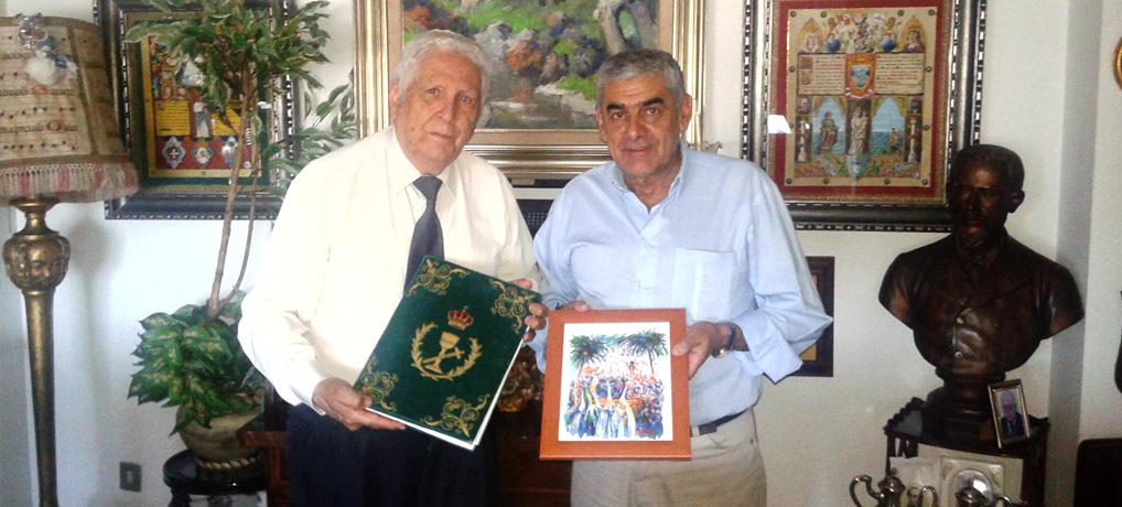 Visita al Pregonero Jose María Segovia Azcárate