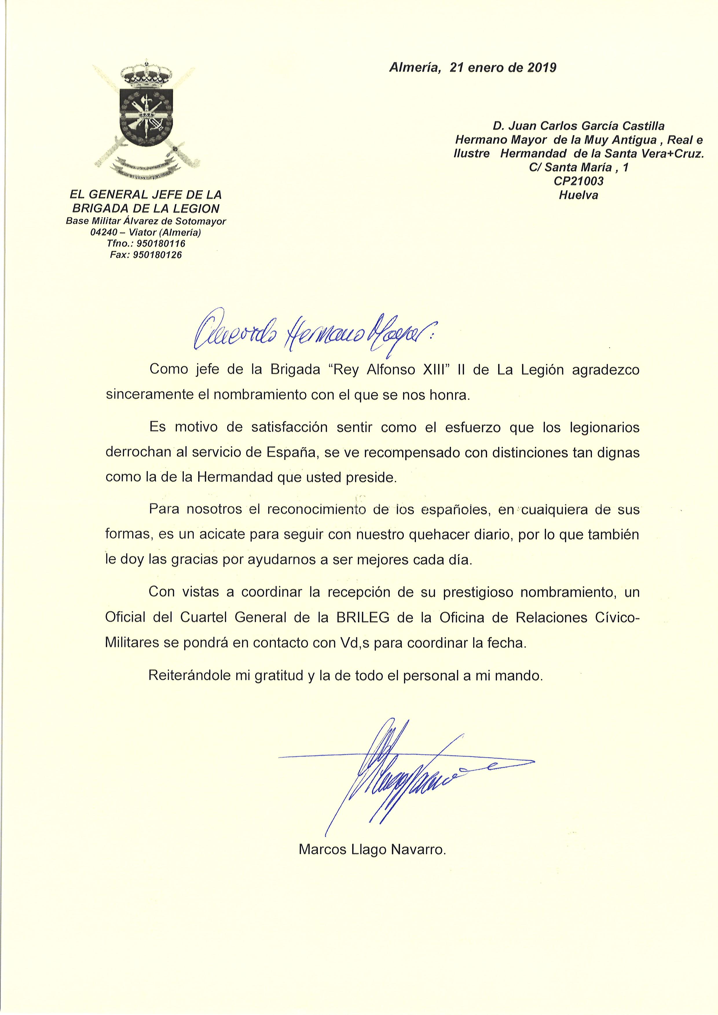 Carta Aceptacion Nombramiento